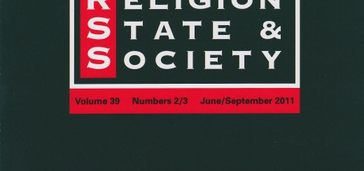 Journal of Religion, State and Society