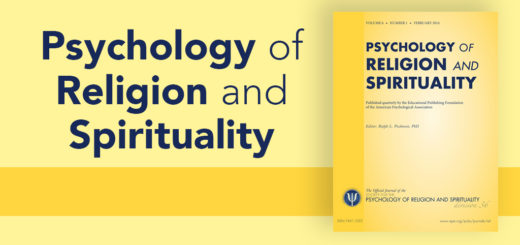 Psychology of Religion and Spirituality