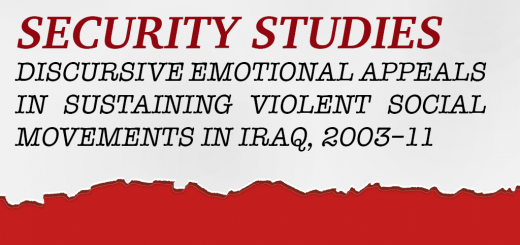 Discursive Emotional Appeals in Sustaining Violent Social Movements in Iraq, 2003–11