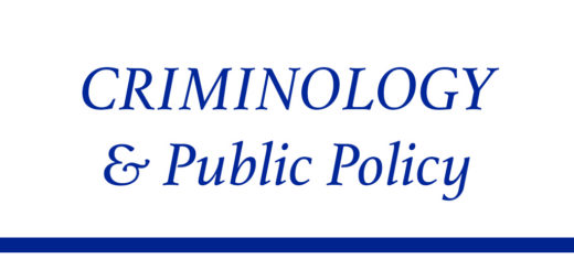 criminology and public policy journal