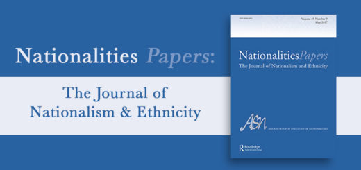 Nationalities Papers- The Journal of Nationalism and Ethnicity