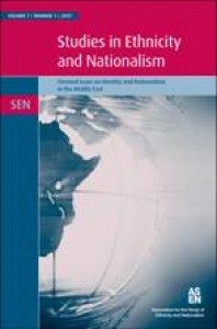 studies in Ethnicity and Nationalism