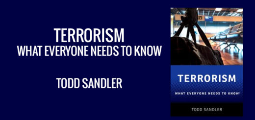 Terrorism What Everyone Needs to Know® Todd Sandler