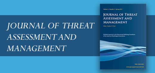 journal of threat assessment and management