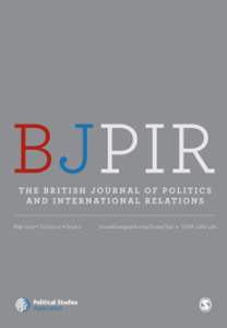 The British Journal of Politics and International Relations